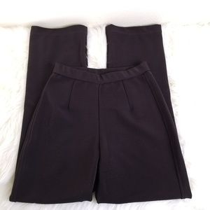 Chico's Design Dark Brown High Waisted Dress Pants